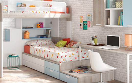 Cómo rentabilizar el espacio en un dormitorio juvenil